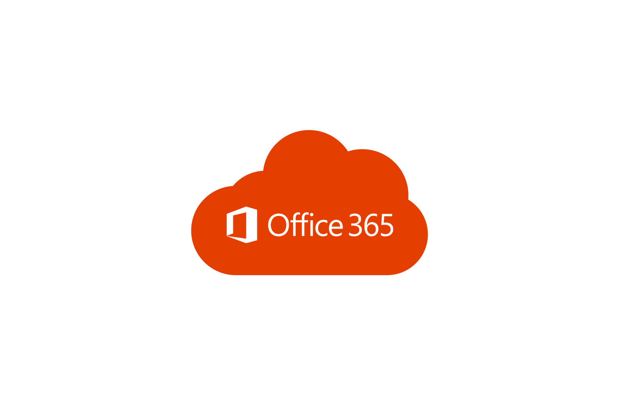 Office 365 Cloud Logo Centred Small Carbon Cloud