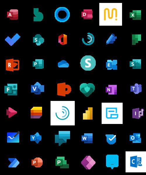 All O365 Logos